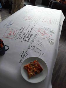 Agile Mythen und Pizza beim Fachgruppentreffen Agilität Franken